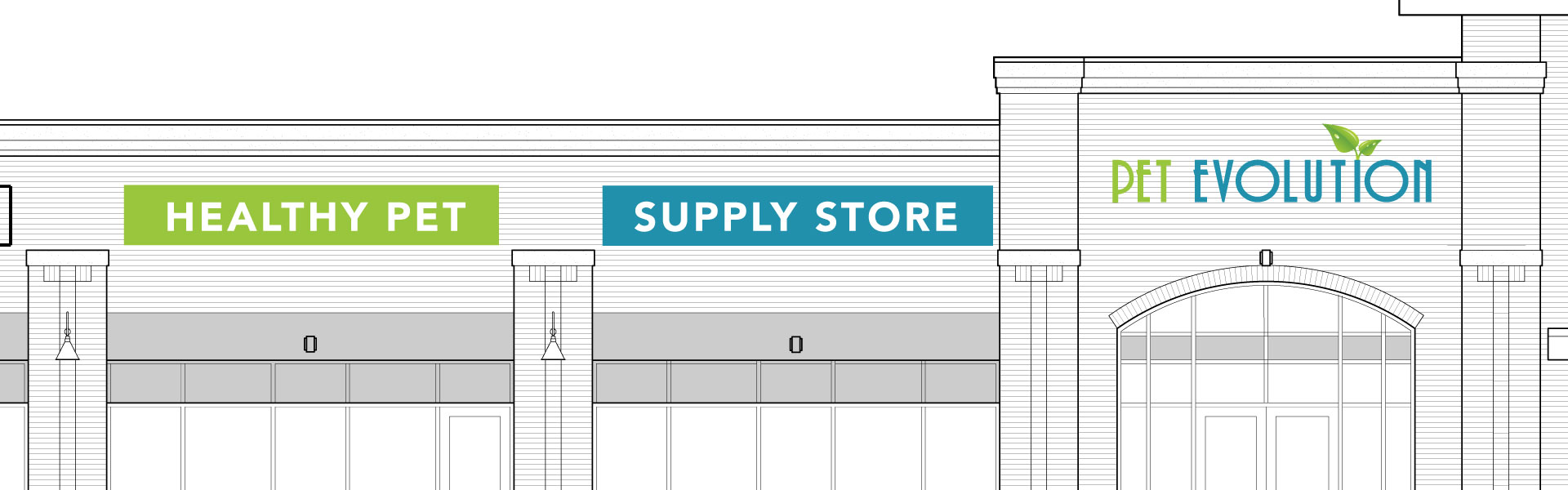 Retail Store Front mock up