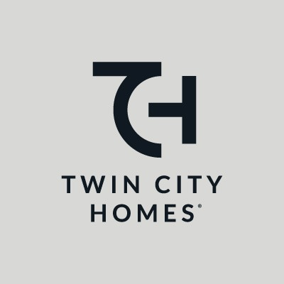 Twin City Homes logo in one color