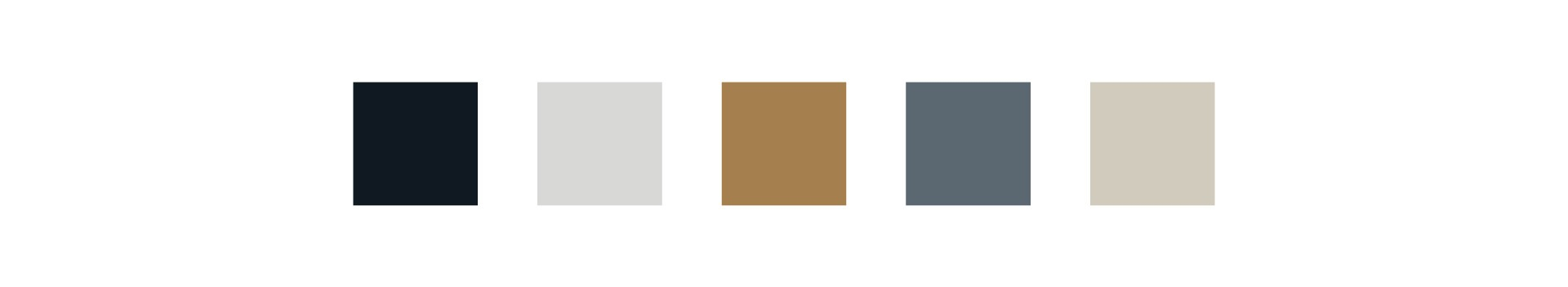 color palette for Twin City Homes brand