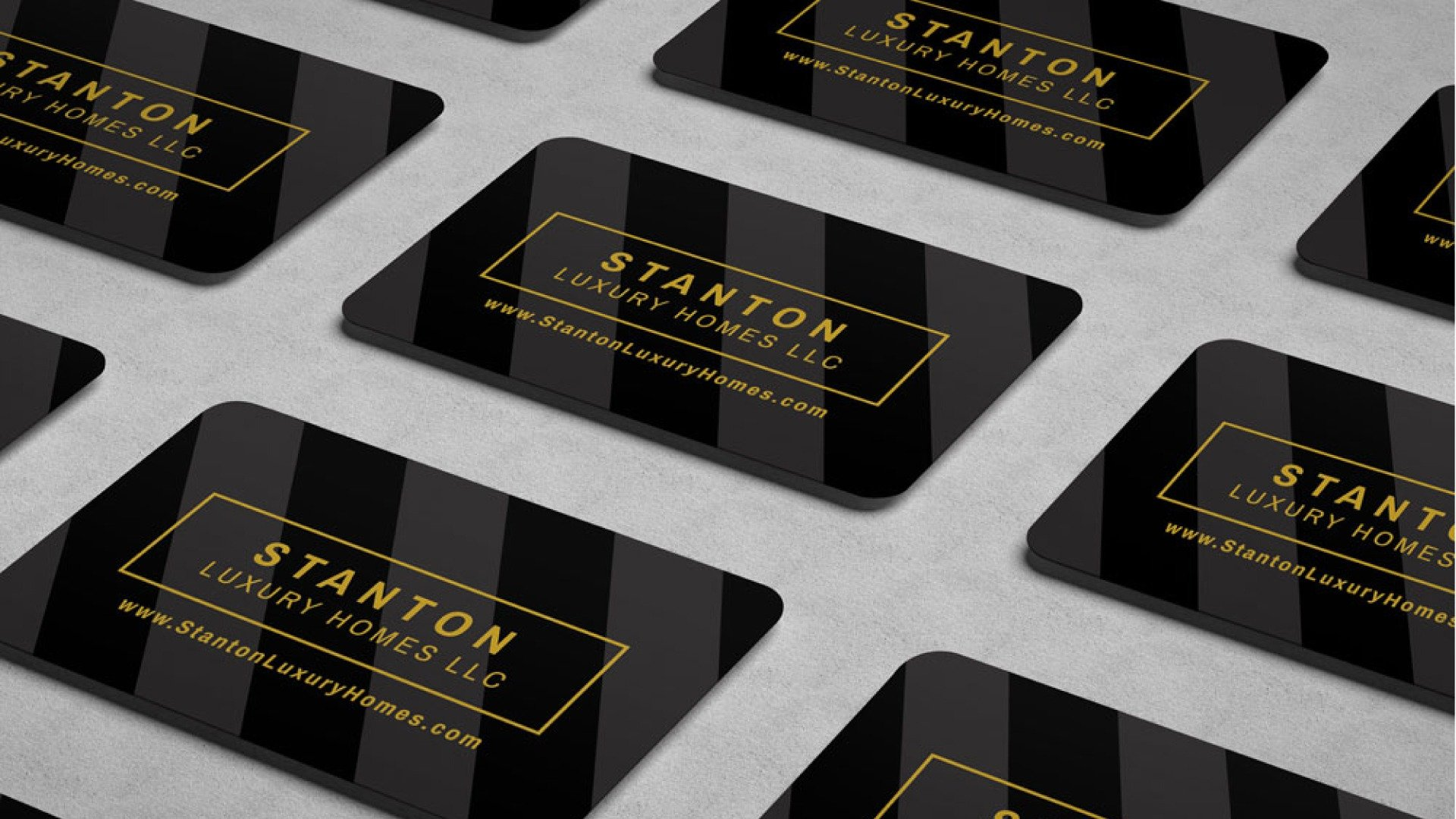 Stanton Luxury Homes business card